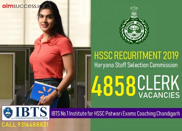 Best Haryana HSSC Clerk Coaching in Chandigarh