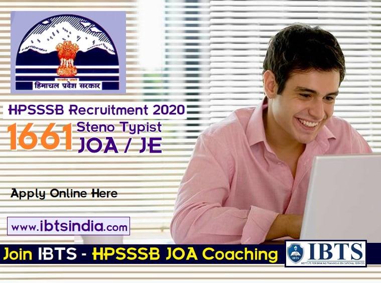 HP JOA Coaching in Chandigarh